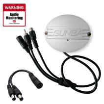 Sunba Outdoor Microphone for IP Security Cameras High Sensitivity Audio Pick-up with Warning Decal-No Screws