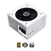 Antec Earthwatts Gold Pro Series EA750G Pro White, 750W Semi-Modular with DC to DC Converter Design, Japanese Caps, PhaseWave Design, 120 mm Silent Fan & 7-Year Warranty