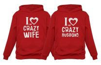 Funny Husband & Wife Couples Gift Anniversary/Newlywed Matching Set Hoodies