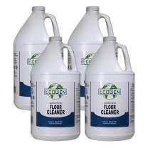 EcoGen ECOFLR-GCS Commercial Floor Cleaner Concentrate, Unscented, gal (Case of 4)