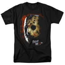 Friday The 13th Movie Jason Hockey Mask T Shirt & Stickers