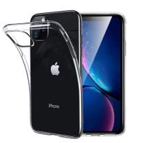 Unov Case Clear for iPhone 11 Pro Max Case Slim Protective Soft TPU Bumper 6.5 Inch (Crystal Clear)