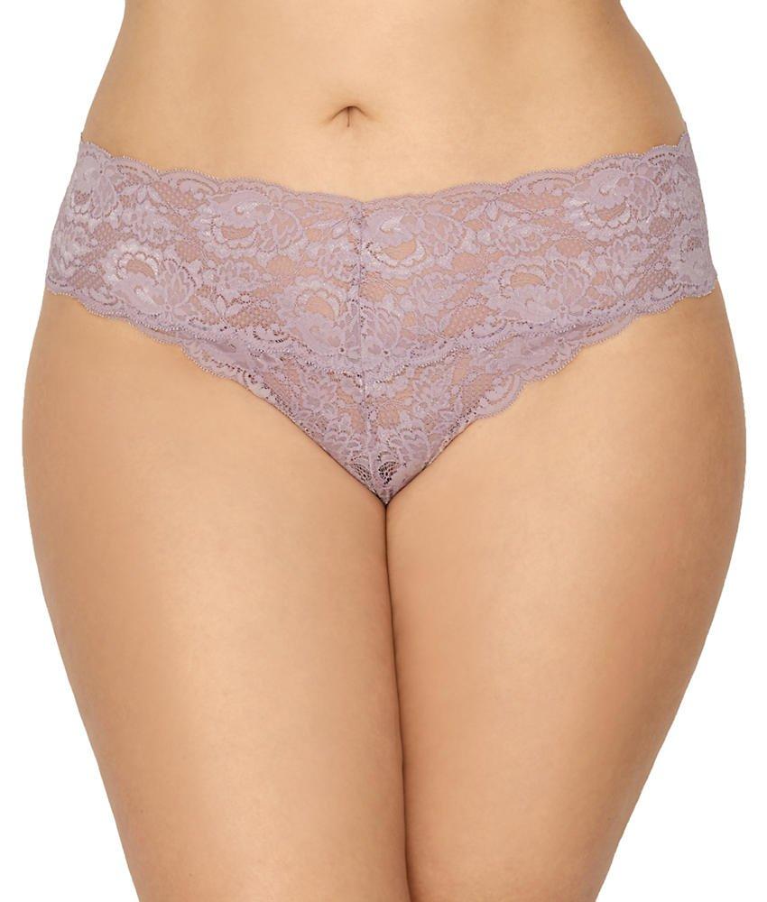 Cosabella Women's Plus Size NSN Cutie Lr Thong Ext