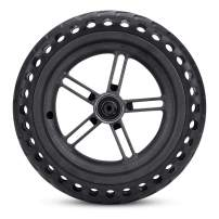 Electric Scooter Wheel, Explosion-Proof Solid Scooter Tires Replacement Shock Absorbers Honeycombs Tire, for Xiaomis M365 Scooter