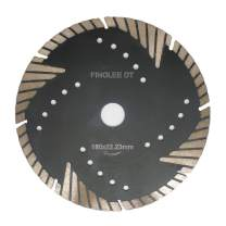 FINGLEE DT Diamond Saw Blade for Concrete Brick Block Granite Stone,Diamond Cutting Disc (7 Inch)