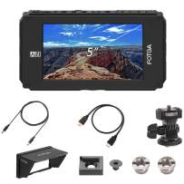 "Fotga DP500IIIS A50 5"" FHD IPS Video On-Camera Field Monitor,1920x1080, 700cd/m2,HDMI 4K Input/Output,Dual NP-F Battery Plate NP-F550 NP-F970 F570 F550,for 5DIII IV,A7 A7S A7R II III A6500 GH3/4/5/5s"