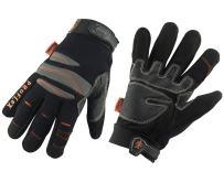 Ergodyne ProFlex 710CR Cut Resistant Trades Gloves, Black, Small