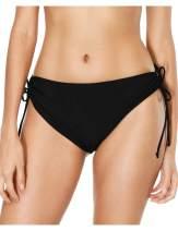 Charmo Women's Bikini Bottoms High Cut Swim Bottom Full Coverage Swimwear Briefs