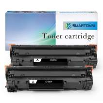 S SMARTOMNI Compatible Toner Cartridge Replacement for HP CF283X 83X (High Yeild,2 Pack), for use with HP Laserjet pro M201dw M201n MFP M225dw M225dn Printers