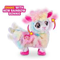 Pets Alive Rainbow Bonnie The Booty Shakin Llama Battery-Powered Dancing Robotic Toy by ZURU