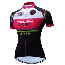 Cycling Jersey Women Bicycle Short Sleeve Bike Shirt Breathable Clothing Sport Tops
