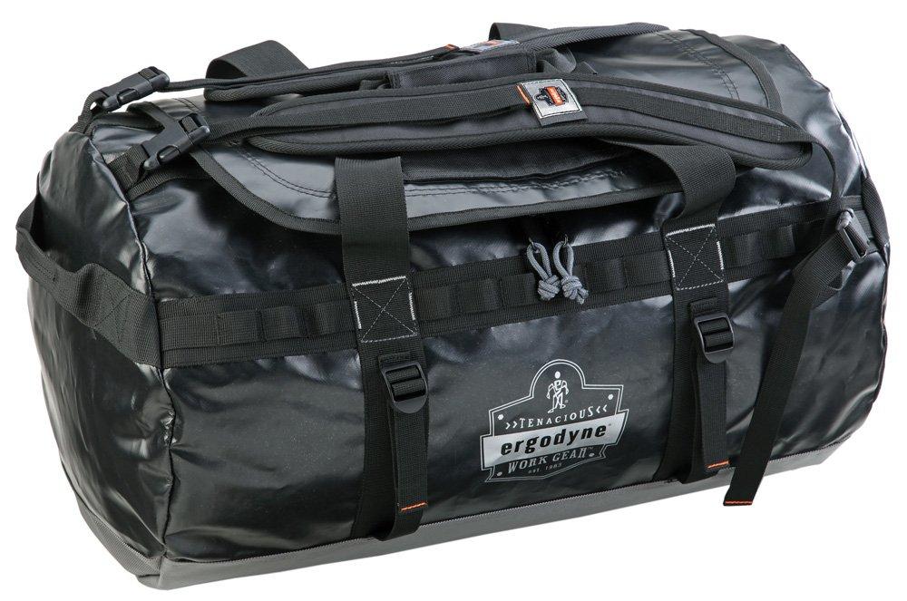 Ergodyne Arsenal 5030M Medium Tarpaulin Water Resistant Duffel Bag w/ Removable Shoulder Straps