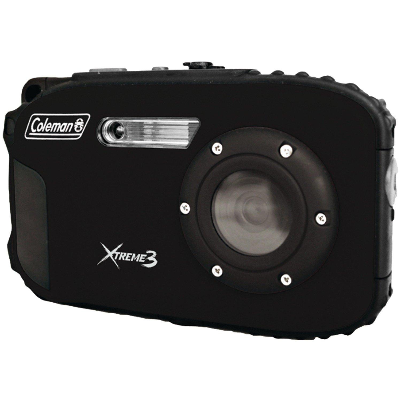 Coleman C9WP-BK Xtreme3 20 MP Waterproof Digital Camera with Full 1080p HD Video (Black)