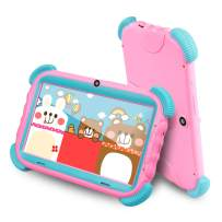 ZONKO Toddler Tablet, 7 Inch Edition Baby Children Tablet Android 8.1, Wi-Fi, Eye Protection IPS HD Screen, 16GB ROM, Dual Camera, Quad-Core, Kids Proof Case (Pink)