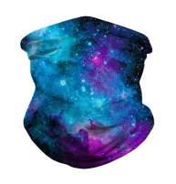 JomeDesign Seamless Face Bandanas Unisex Headband Shield Scarf Neck Gaiters for Dust, Outdoors, Festivals, Sports