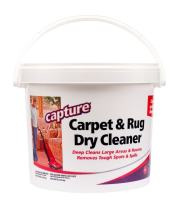 Capture Carpet Dry Cleaner Powder 8 lb - Deodorize Stains Smell Moisture from Rug Furniture Clothes and Fabric, Pet Stains Odor and Smoke Too