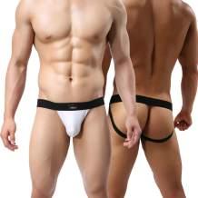 MuscleMate Premium Men's Jockstrap, Hot Men's Jockstrap Thong Underwear
