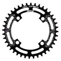 DECKAS 104BCD 40T 42T 44T 46T 48T 50T 52T Narrow Wide Chainring Single Chainring for 8/9/10/11-Speed (Round)