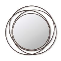 Foreside Mod Circle Mirror Extra Large