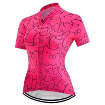 Cycling Jersey Women Short Sleeved Bike Shirt Racing Cycling Clothing Comfortable Quick Dry Wear Top