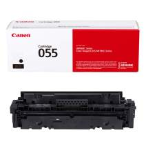 Canon Genuine Toner, Cartridge 055 Black (3016C001) 1 Pack, for Canon Color Image Class MF741Cdw, MF743Cdw, MF745Cdw, MF746Cdw,LBP664Cdw Laser Printers