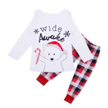 EFINNY Matching Family Christmas Pajama Sets Plaid Loungewear Sleepwear for Mom Dad Baby Kids