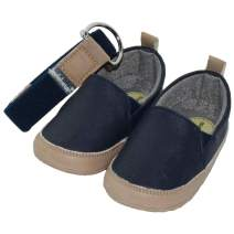 Baby Boys Sneakers with Soft Sole Prewalkers with Matching Belt (Newborn/Infant)