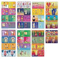 Daily Devotional Topical Bible Verses for Kids NIV Flashcards (30 Cards x 4 Set)