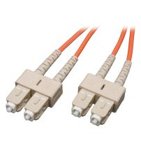 Tripp Lite Duplex Multimode 50/125 Fiber Patch Cable (SC/SC), 1M (3-ft.)(N506-01M)