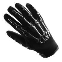 Adult Motocross Gloves Motorcycle BMX MX ATV Dirt Bike Bicycle Skeleton Cycling Gloves Black