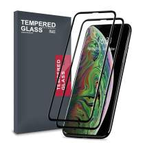 Meidom Screen Protector for iPhone 11 Pro Max, iPhone XS Max Tempered Glass with Full Coverage and Edge-to-Edge Protection Case Friendly Protective Film for iPhone Xs Max/ 11 Pro Max 6.5 inch - 2 Pack