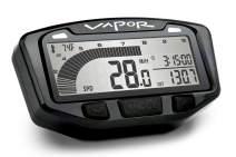 Trail Tech 752-110 Black Vapor Digital Speedometer Tachometer Gauge Kit, 2000-2017 KTM Husqvarna Husaberg
