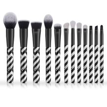 Makeup Brush Set, DUcare 12 Pcs Face Foundation Blush Contour Eyeliner Eye Shadow Lip Cosmetic Brushes for Powder Liquid Cream