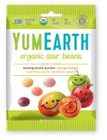 YumEarth Organic Sour Beans, 2.5 Ounce, 12 pack