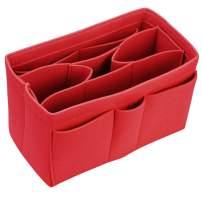 Purse Organizer Insert for Handbags Tote Diaper Bag Felt Bag Insert Organizer for Speedy Neverfull MM GM and More