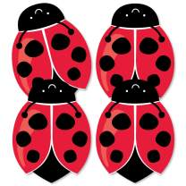 Big Dot of Happiness Happy Little Ladybug - Decorations DIY Baby Shower or Birthday Party Essentials - Set of 20