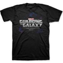 Kerusso Men's Guarding The Galaxy T-Shirt - Black -