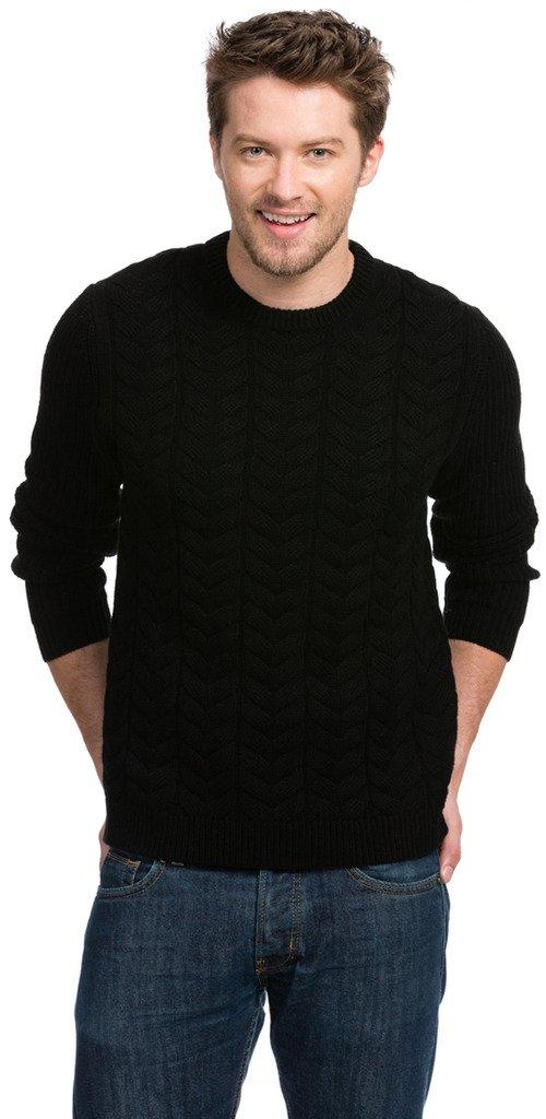 Citizen Cashmere Irish Sweater (Men's) – 90% Merino Wool / 10% Cashmere