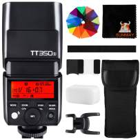 GODOX TT350S TTL 2.4G Camera Flash GN36 1/8000s HSS Wireless Mini Flash Speedlight for Sony Mirrorless Cameras (TT350S)