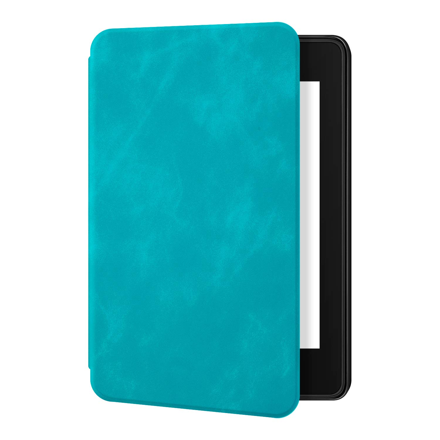 Ayotu Skin Touch Feeling Case for Kindle Paperwhite 2018-Durable Soft Artificial Leather Cover with Auto Wake/Sleep-Fits Amazon The Latest Kindle Paperwhite Case (10th Generation-2018),K10 Sky Blue