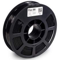KODAK FLEX 98 Flexible 3D printer filament TPU BLACK +/-0.03 mm, 750g (1.6lbs) Spool, 1.75 mm. Lowest moisture premium 3D printer flex filament in Vacuum Aluminum Ziploc bag. Fit Most FDM Printers