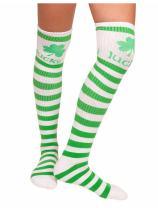 St. Patrick's Day Knee High Socks for Women Irish Green Clover Shamrock Socks