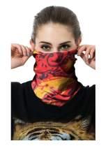 Seamless Neck Gaiter Fashion Bandana Sports Casual Headwear Headwrap Balaclava Helmet Liner