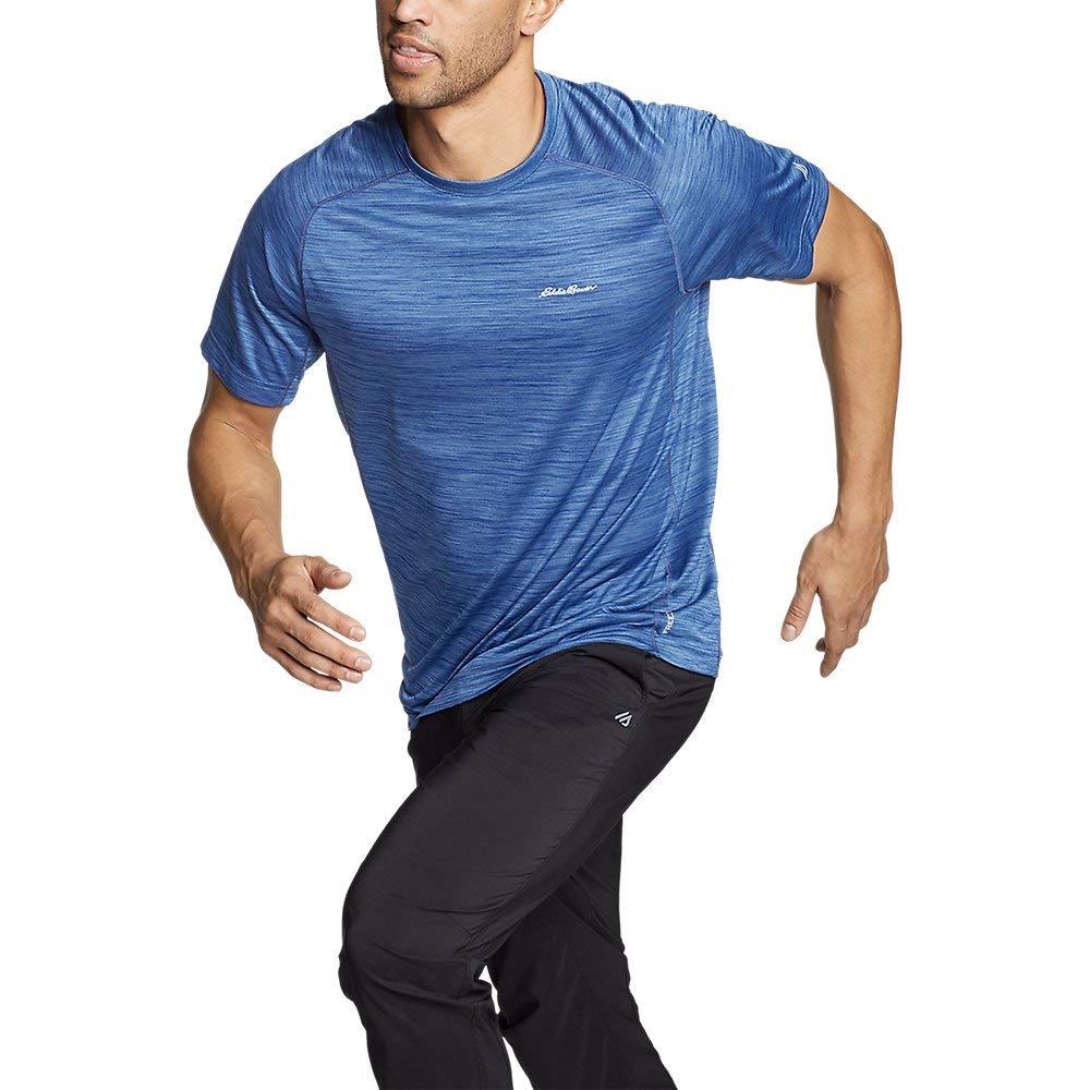 Eddie Bauer Men's Resolution Short-Sleeve T-Shirt, Lake Regular XXL