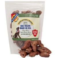 Green Butterfly Brands Freeze Dried Whole Chicken Hearts for Dog and Cats – 1 Ingredient Premium Chicken Dog Treats – Made in USA Only – All Natural Grain Free – No Additives or Preservatives 4 Ounces