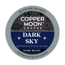 Copper Moon Dark Sky Blend, Dark Roast Coffee Pods Compatible with Keurig K-Cup Brewers, 20 Ct.