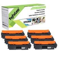 PayForLess Compatible for HP 30A CF230A Toner Cartridge 6PK for HP Laserjet Pro M203dw M203d M203dn HP Laserjet Pro M227fdw M227fdn M227sdn