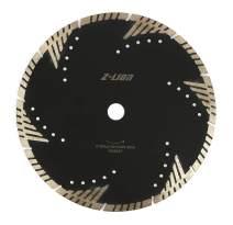 "Z-LION Diamond Saw Blade 12"" Inch Turbo Diamond Segments Blade for Marble Granite Stone Pavers Concrete Wet/Dry Cutting"
