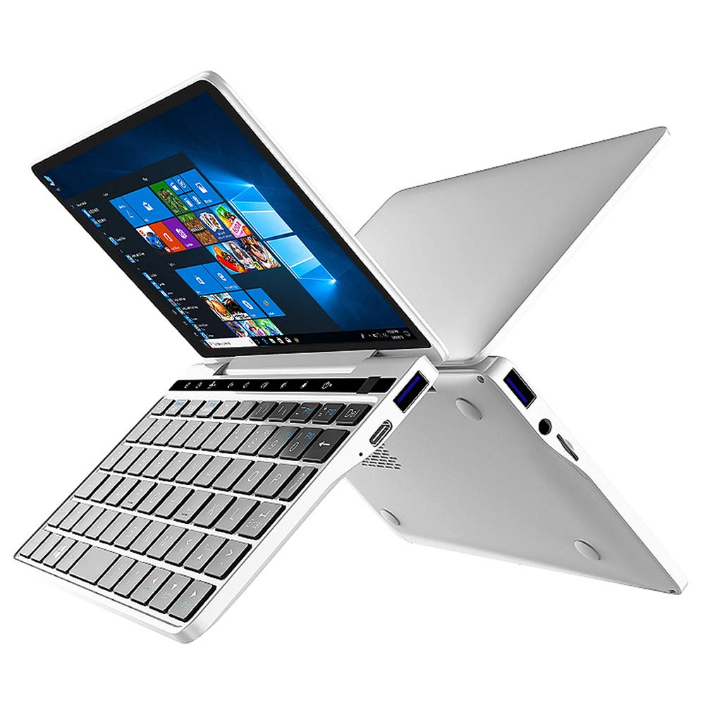 GPD Pocket 2 [2019 HW Update-CPU Intel m3-8100Y] 7 Inches Touch Screen Mini Laptop UMPC Tablet PC Windows 10 System lntel HD Graphics 615 8GB RAM/128G Storage