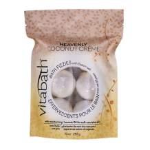 Vitabath HEAVENLY COCONUT CRÈME 10 oz Bath Fizzies